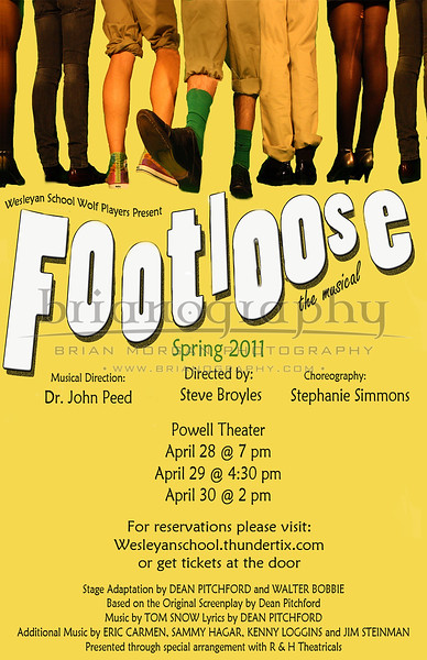 Footloose Poster COMLPETE
