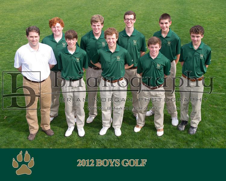 2012 Boys Golf_COACHES PHOTO