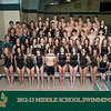 2012-13 Middle School Swimming