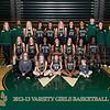 2012-13 Varsity Girls Basketball