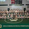 2012-13 Middle School Wrestling