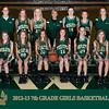 2012-13 7th Grade Girls Basketball