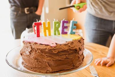 Wesley's 3rd Birthday