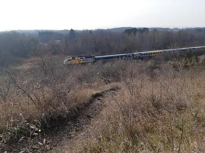 Train, in Area 4 (Photo by Frank Godfrey)