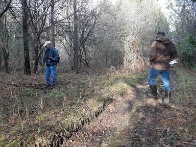 WBFN members , in Area 4 (Photo by Frank Godfrey)
