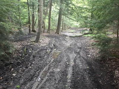 ATV damage ravines - Photo by Jenny Jackman