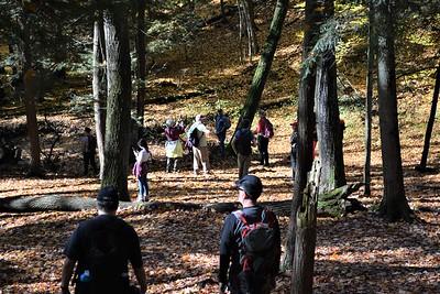 1 hikers east ravine