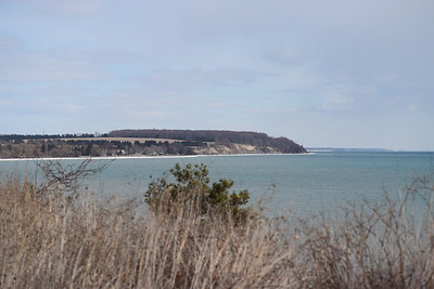Coastline east of Wesleyville site - view from bluff east of powerhouse , in Area 1 (Photo by Gerry McKenna)
