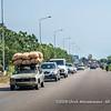 An old overloaded Peugeot 504 near Porto-Novo, Benin