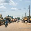 "One of the ""highstreets"" in Porto Novo, Benin"