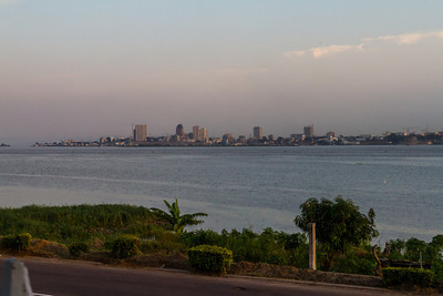 Kinshasa, the capital of the Democratic Republic of Congo, across the Congo River from Brazzaville, the capital of the Republic of Congo. The only place where two capital cities are across a river from each other.