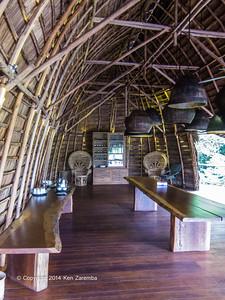 Dinning area, Wilderness Odzala Lango camp, Odzala-Kokoua National Park, Mboko Concession,  Republic of Congo