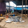 A fish stall in James Town, Accra, Ghana