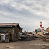 Fish smoking shop in Jamestown, Accra, Ghana