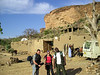 Matt, Rachel, and our guide Hassimi as we get started on our 4-day hike through Dogon country.