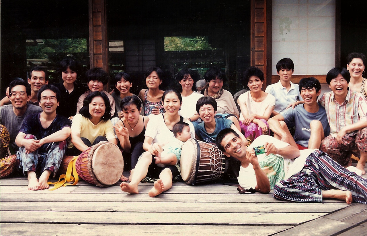 Workshop at Hotaka Yojo-en, 1994