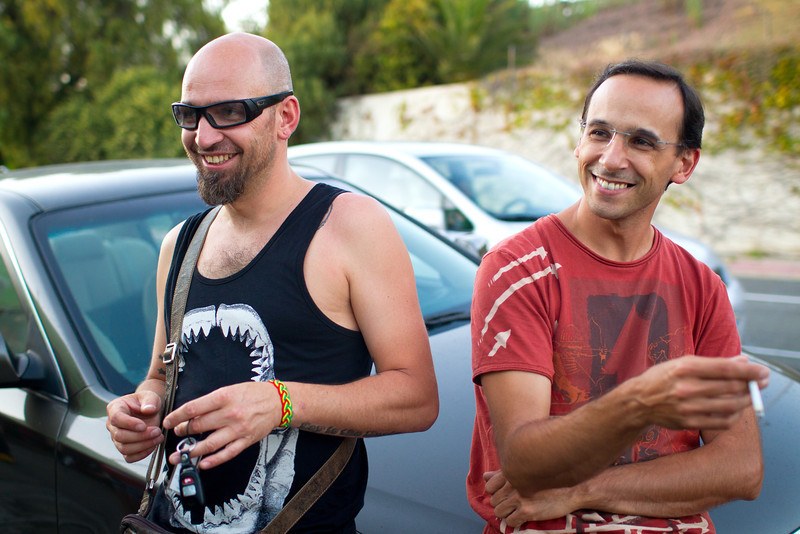 Jeremy and Pierre - Mini Guinea, San Diego, June 2011