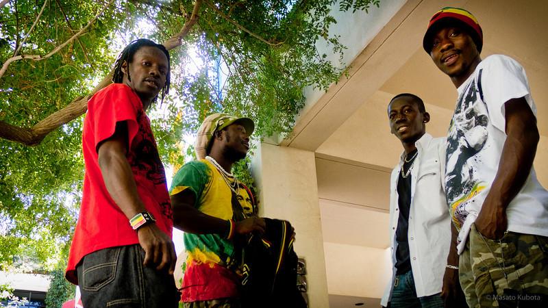 Facinet Bangoura, Amara Mansare, Alhassane Camara & Soriba Fofana - African Festival, Phoenix, October 2010