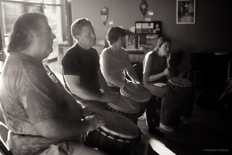 Drumming Workshop with Martin - Tucson, December 2011