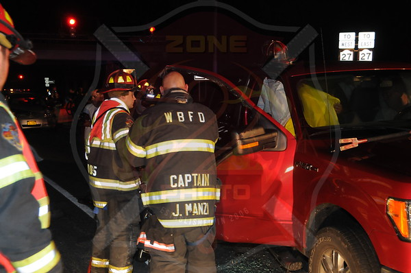 West Babylon F.D. MVA w/ Entrapment Sunrise Hwy. and Hubbards Path 6/30/13