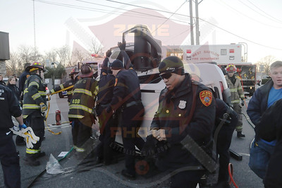 West Babylon F.D. MVA w/ Overturn and Entrapment Route 109 and East Dr. 11/28/13