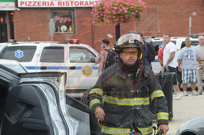 West Babylon F.D. MVA w/ Overturn(Amityville 1-1-2 on stand by) Little East Neck Road and 9th Street 7/19/14