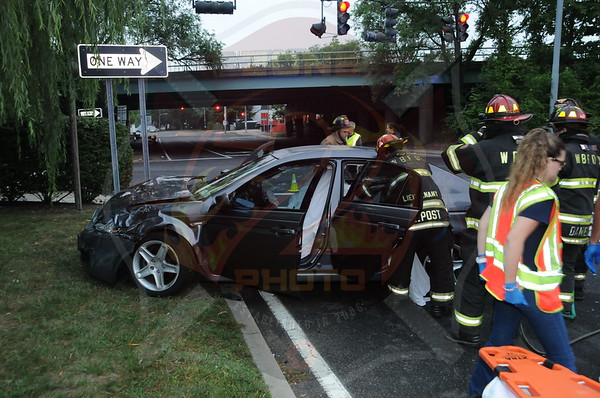 West Babylon F.D. MVA w/ Disentanglement Hubbards Path and Sunrise Hwy. 9/1/13