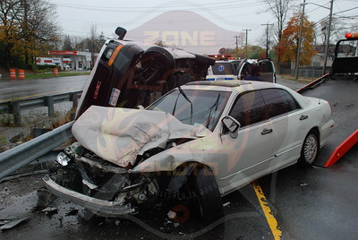 West Babylon F.D. MVA w/ Overturn Rt.109 just north of Sunrise Hwy. 11/12/09