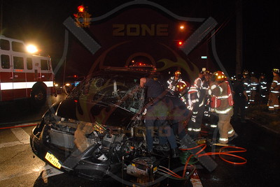 West Babylon F.D. MVA w / Entrapment Straight Path and Edison Ave. 9/27/10