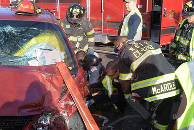 West Babylon F.D. MVA w/ Entrapment and Medevac   Nill St. and Great East Neck Rd.  2/24/17