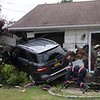 West Babylon F.D. MVA with Car Into Two Houses Gordon Ave. 7/12/19
