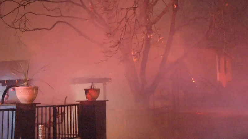 West Babylon Multiple House Fire with Burn Vicitm- Paul Mazza