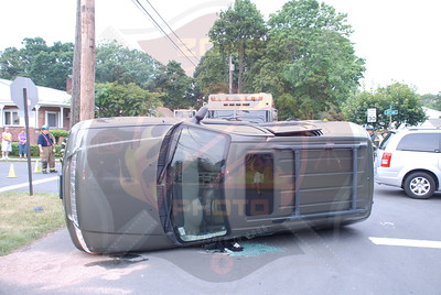 West Babylon F.D. VA w/ Overturn 1st St. and 15th Ave. 6/22/10
