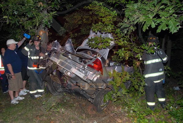 West Babylon F.D. MVA w/ Entrapment  S.S. Pkwy. west of Exit 37 9/3/11