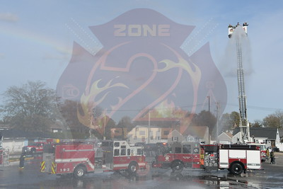 West Babylon F.D. Wetdown For Engine 1-9-3  and walk around of Engines 1-9-3 and 1-9-2  11/9/19