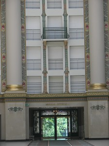 West Baden's Historic Hotel during renovation