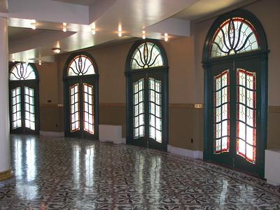 West Baden's Historic Hotel during renovation