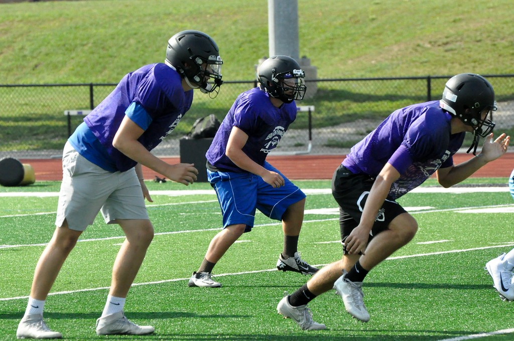 . Bloomfield Hills is coming off of a 9-1 season in 2016 that included a playoff berth. (Photos by Dan Fenner/The Oakland Press)