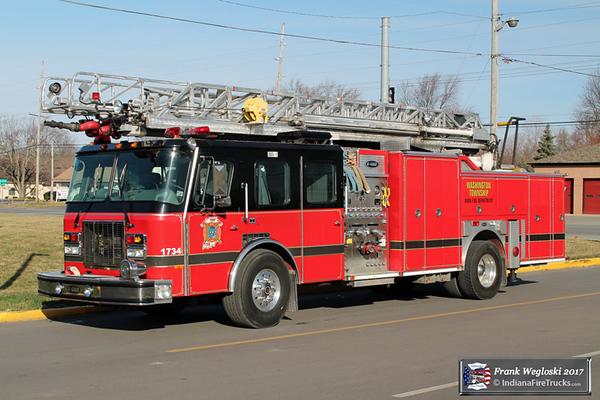 Reserve Ladder 149 - 1996 E-One Cyclone II 75ft Quint (#16388) - 1500gpm/500gal
