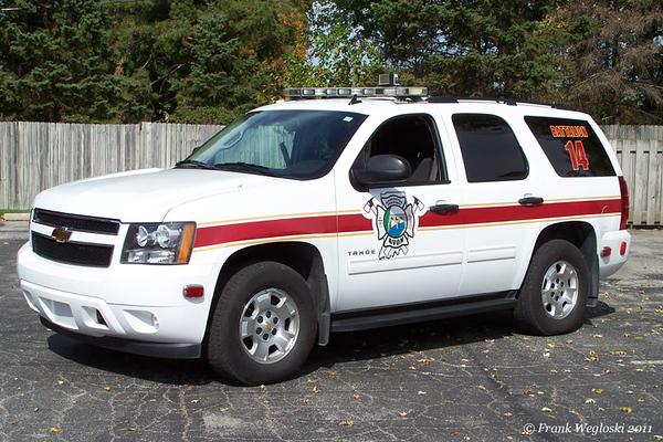 Battalion Chief 14 - 2010 Chevrolet Tahoe - Command Vehicle