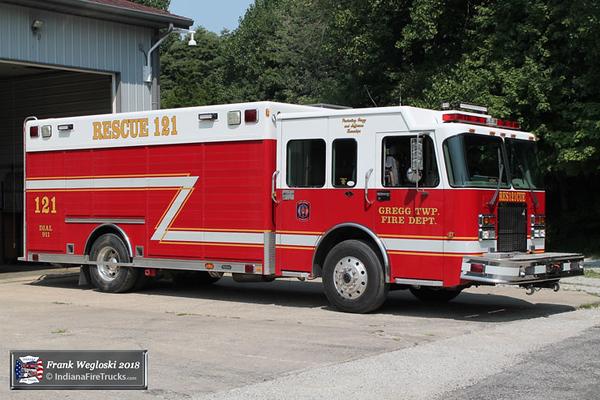 Rescue 121 - 2002 Spartan/Hackney Walk-around Heavy Rescue