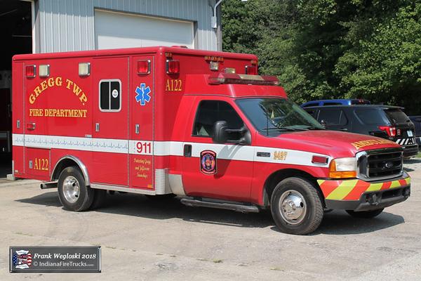 BLS Ambulance 122 - 1999 Ford F350/2000 Horton (#9350)