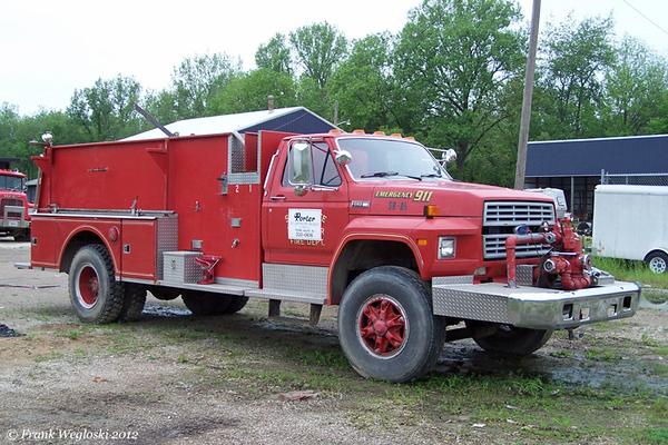Former Engine 77 - 1986 Ford F800/McGinley - 750gpm/1500gal