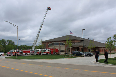 West Chicago FPD Grand opening Station #2  5-8-2010