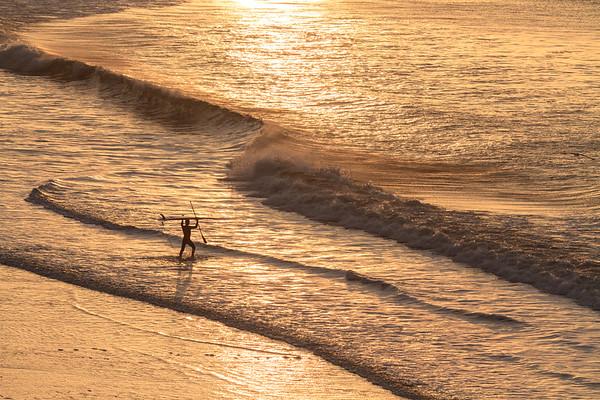 Dawn Surf at Drakes Beach