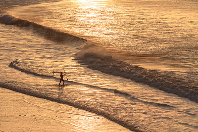 Dawn Surf at Drakes Beach