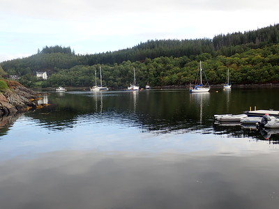 Salen Jetty from Smirisary