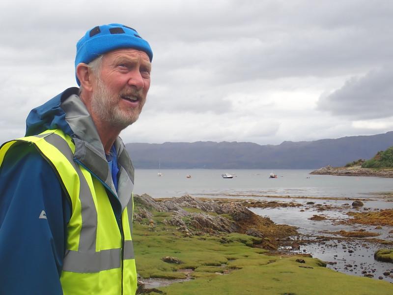 Salen Jetty walk part of 7,000 trek