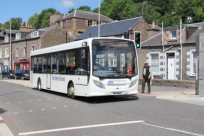 Borders Buses 11709 Stirling Street Galashiels 1 Jul 17