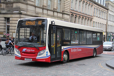 Borders Buses 11719 North Bridge Edinburgh Jul 17